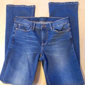 Lucky Brand sweet boot 5 pocket cotton/blend jeans
